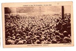 0615 - Paris - DRAC à L'Arc De Triomphe ( 14 Juin 1925 ) - N°8 - Les Ligueurs De DRAC - Cl. H. Manuel - - Demonstrations