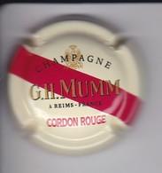 PLACA DE CHAMPAGNE MUMM CORDON ROUGE (CAPSULE) - Mumm GH