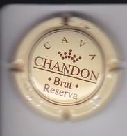 PLACA DE CHAMPAGNE CHANDON BRUT RESERVA (CAPSULE) - Moet Et Chandon