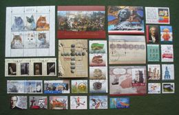 Poland 2010 - Used (o) - Almost Complete Year Set Of 29 Stamps + 6 Blocks - Nearly Full , Pologne Polonia Polen --- Ro - Pologne