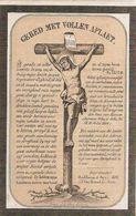 DP.FRANCOISE DE BACKER + THIELT 1860 - 60 ANS - Religion & Esotérisme