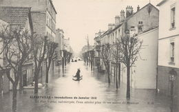 ALFORTVILLE : Inondation De 1910 - Alfortville
