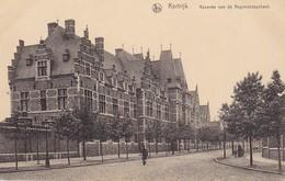 AK Kortrijk - Kazerne Van De Regimentsschool  - 1917 (33286) - Kortrijk