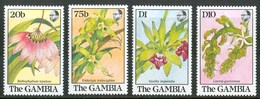 1989 Gambia Orchidee Orchids Orchidèes Fiori Flowers Blumen Fleurs MNH** Fio181 - Gambia (1965-...)