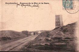 ZUYDCOOTE: Avenue De La Mer Et La Gare. - Altri Comuni