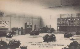 ARCUEIL : Ecole Speciale De Travaux Publics - Laboratoire D'Electricité - Arcueil