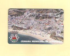 "PHONECARD ÓPTICO PORTUGAL PT077 ""C.M. ALBUFEIRA""  609L - 20U -  EX:5.000 - NEW/NOT USED - Portugal"