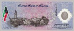 Kuwait P.cs2 1 Dinar   2001  Unc - Kuwait