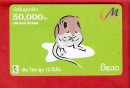 LAOS - Remote Phonecard / Chinese Zodiac - Laos