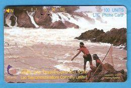 LAOS -  TAMURA  Phonecard - Laos