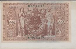 Rox   GERMANIA 1000 MARCHI 1910 - [ 2] 1871-1918 : German Empire