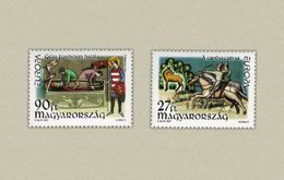 Hungary 1997. EUROPA CEPT - Legends Complete Set MNH (**) Michel: 4455-4456 / 3 EUR - Nuovi