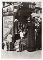 PARIS --Distributeur Automatique (animée,Pub MAGGI ) --PARIS 1900 -- Carte Glacée - France
