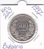 MONETA 500 LEVA 1997 KM-229  UNC - Bulgaria