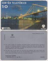 42/ Brazil; Telesc, Field Trial, 10 Ut., FT1. Ponte Hercílio Luz, INT - Brésil