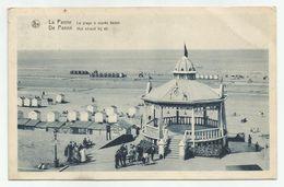 DE PANNE Strand Bij Eb 1932 Verstuurd - Kiosk Animatie - De Panne
