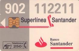 TARJETA TELEFONICA DE ESPAÑA USADA. 06.94 - TIRADA 66000 (463). BANCO SANTANDER. - Spain