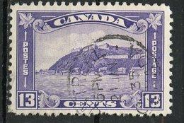 Canada 1932 13c Quebec Citadel Issue  #201 - 1911-1935 Reign Of George V