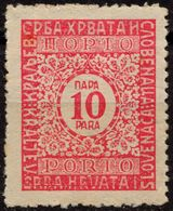 1921 - SHS Yugoslavia - Postage DUE PORTO - MH - Postage Due