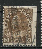 Canada 1918 3 Cent Admiral Issue  #108as - 1911-1935 Règne De George V
