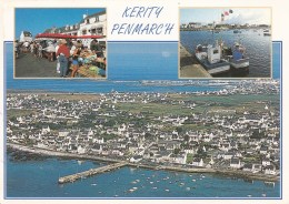 . Le Marché Et Le Port. KERITY PENMARCH. Flamme - Penmarch