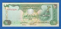 ²united  Arab  Emirates  10  Dirhams - Emirati Arabi Uniti