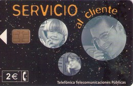 TARJETA TELEFONICA DE ESPAÑA USADA. 06.02 - TIRADA 12000 (471). SERVICIO AL CLIENTE. - Spain