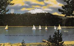 Elk Lake And Mt. Bachelor, In Scenic Oregon - Etats-Unis