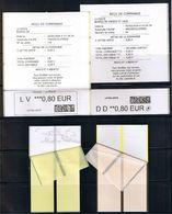 2 ATMs, CALISE, LV 0.80/ DD 0.80€, 2 Reçus, Des 2 PROTOTYPES CALISE  En Service à Paris Le 30/06/17 Et Angers 01/01/18 - 2010-... Vignettes Illustrées