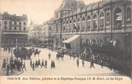 Visite De M. Arm. Fallières, Président De La République Française à S. M. Albert, Roi Des Belges - Réceptions