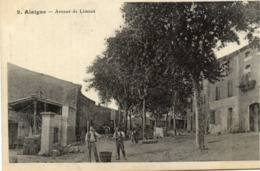 11 ALAIGNE - Avenue De Limoux - Animée - Autres Communes
