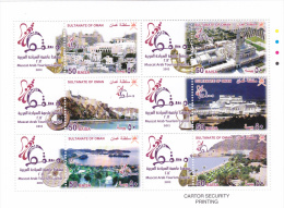 Stamps OMAN 2012 MUSCAT THE ARAB TOURISM CAPITAL MNH SHEET */* - Oman