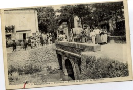 11 AIGUESVIVES - Pont-Neuf - Avenue De Badens Et De Marseillette - SUPERBE ANIMATION - Autres Communes