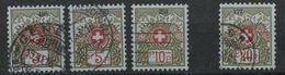 SVIZZERA - HELVETIA - (Vedere Fotografia) (See Photo) 1926 FRANCHIGIA 4 Stamps - Franchigia