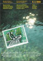 Switzerland / 1990 / Animals / Philatelic Postage Stamps Prospectus, Leaflet, Brochure - Sonstige