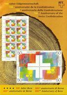 Switzerland / 1991 / Swiss Confederation / Philatelic Postage Stamps Prospectus, Leaflet, Brochure - Letteratura