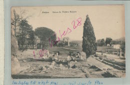 CPA 83  Frejus  Ruines Du Théâtre Romain   FEVR 2018 697 - Frejus