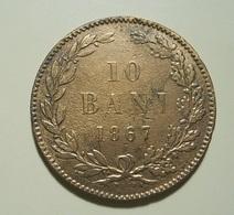 Romania 10 Bani 1867 - Rumania