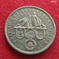 British Caribbean Territories 50 Cents 1965 KM# 7 Caraibas Caraibes Orientales - East Caribbean States