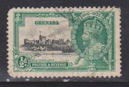 GRENADA Scott # 124 Used - KGV  Silver Jubilee - Grenada (...-1974)