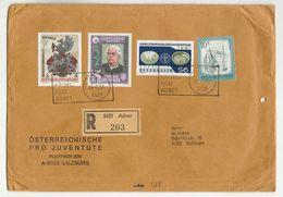 1982 Registered Adnet AUSTRIA COVER Stamps KNEIPP  MEDICINAL PLANTS FAO UN HERALDIC Health Medicine United Nations - Medicine