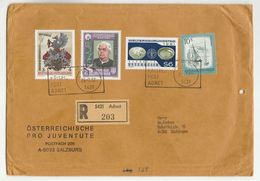 1982 Registered Adnet AUSTRIA COVER Stamps KNEIPP  MEDICINAL PLANTS FAO UN HERALDIC Health Medicine United Nations - 1981-90 Covers