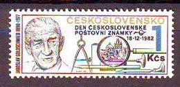 Czechoslovkia 1982, Stamp Day 1v Mnh - Czechoslovakia