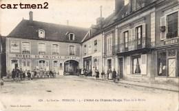 VIBRAYE HOTEL DU CHAPEAU ROUGE PLACE DE LA MAIRIE 72 - Vibraye