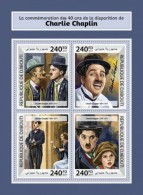 Djibouti 2017 Charlie Chaplin - Djibouti (1977-...)