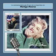 Djibouti 2017 Marilyn Monroe - Djibouti (1977-...)