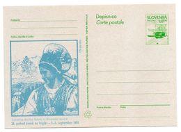 Slovenia: 1993 Private Overprint Postal Stationery Card, 28th Women's Hike On Mt. Triglav Unused - Slovenia