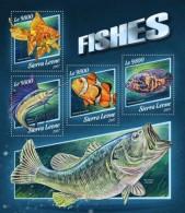 Sierra Leone 2017 Fishes S2017-11 - Sierra Leone (1961-...)