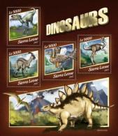 Sierra Leone 2017 Dinosaurs S2017-11 - Sierra Leone (1961-...)