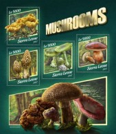 Sierra Leone 2017 Mushrooms S2017-11 - Sierra Leone (1961-...)